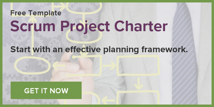 Get the Free Scrum Project Charter Template