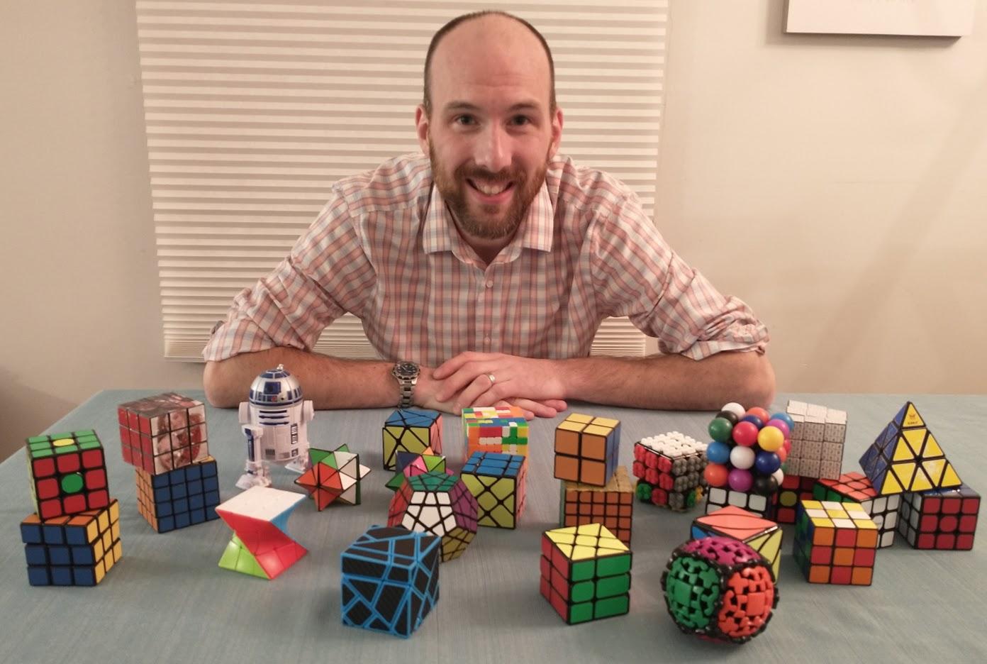 John Reiner's Rubiks Cubes