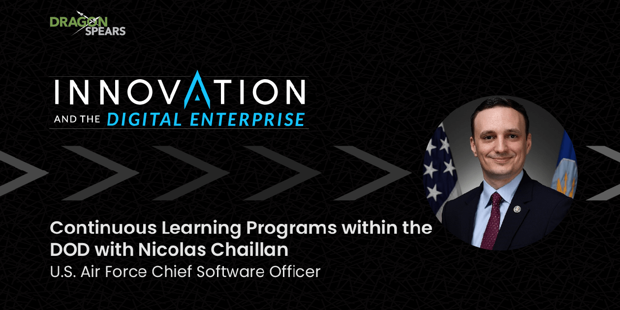 Continuous Learning Programs within the DOD with Nicolas Chaillan