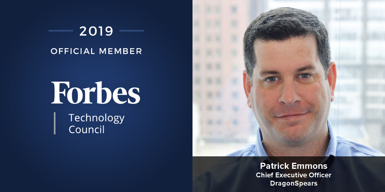 DragonSpears CEO Patrick Emmons Accepted into Forbes Technology Council