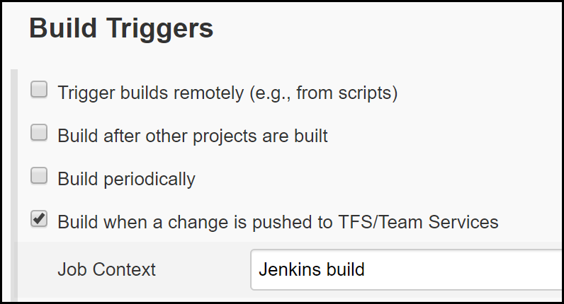 Specify your endpoint for Azure DevOps to communicate with Jenkins